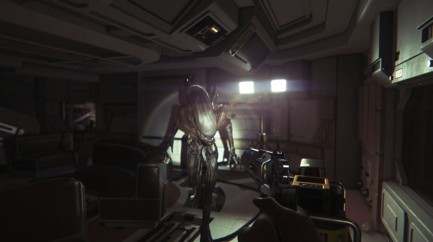 Alien Isolation-Realistic Alien ready for you better run fast