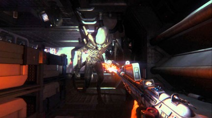 Alien Isolation-Intense Battle as your fear grows