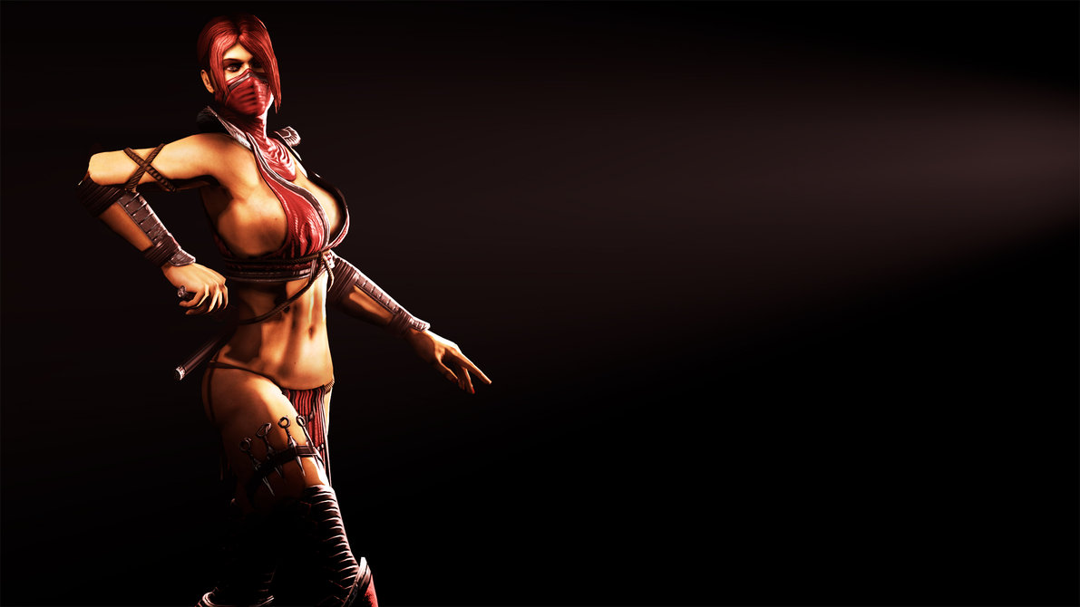 naked mortal kombat female