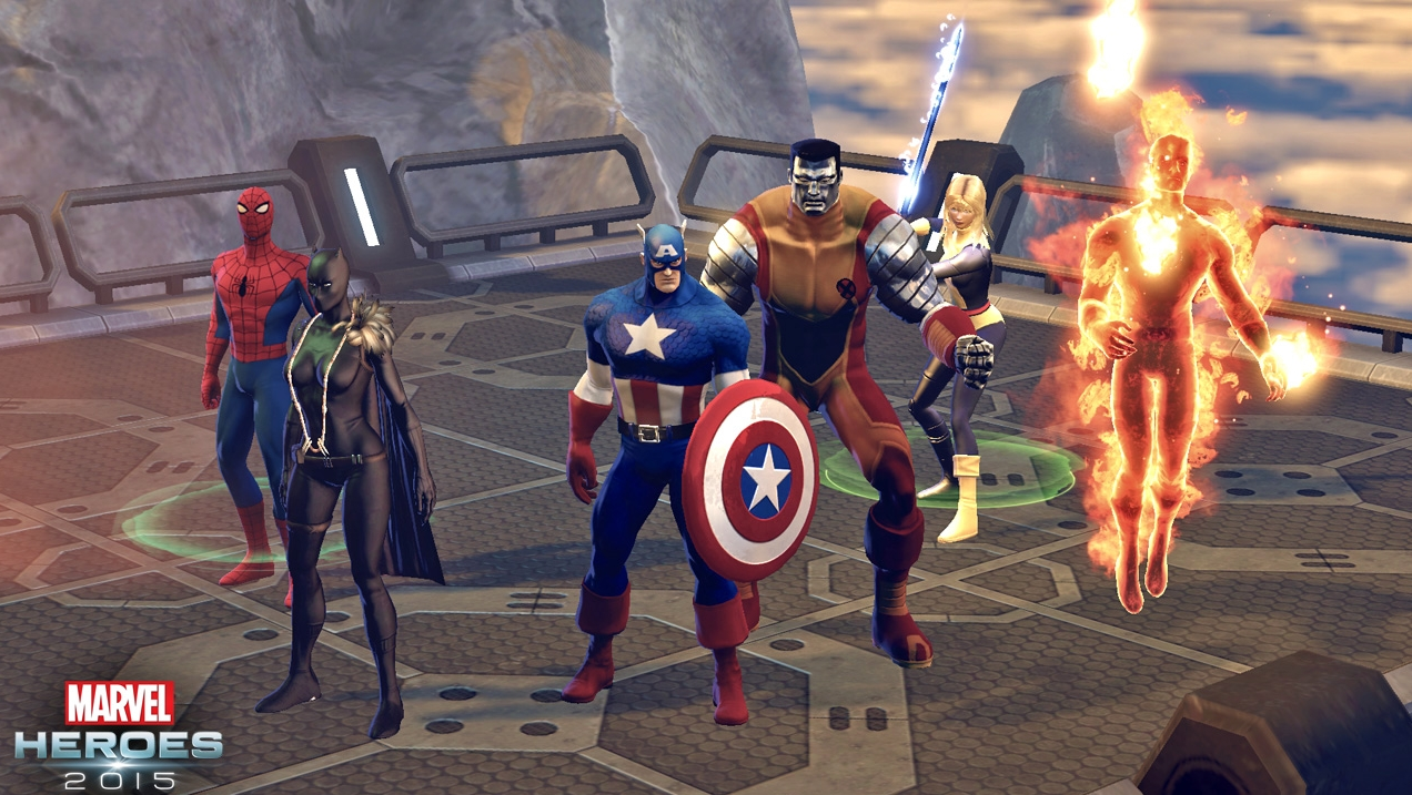 free marvel hero games