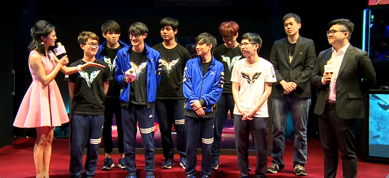 The Flash Wolves LMS Spring Split 2016 Champions