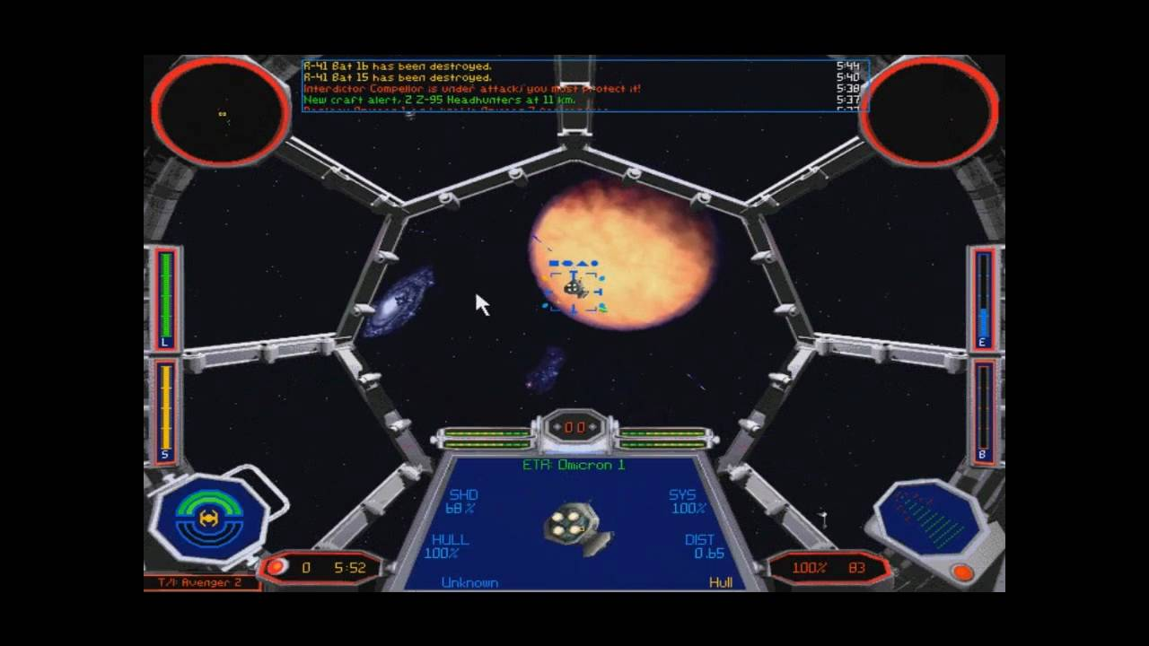 Xwing TIE Fighter