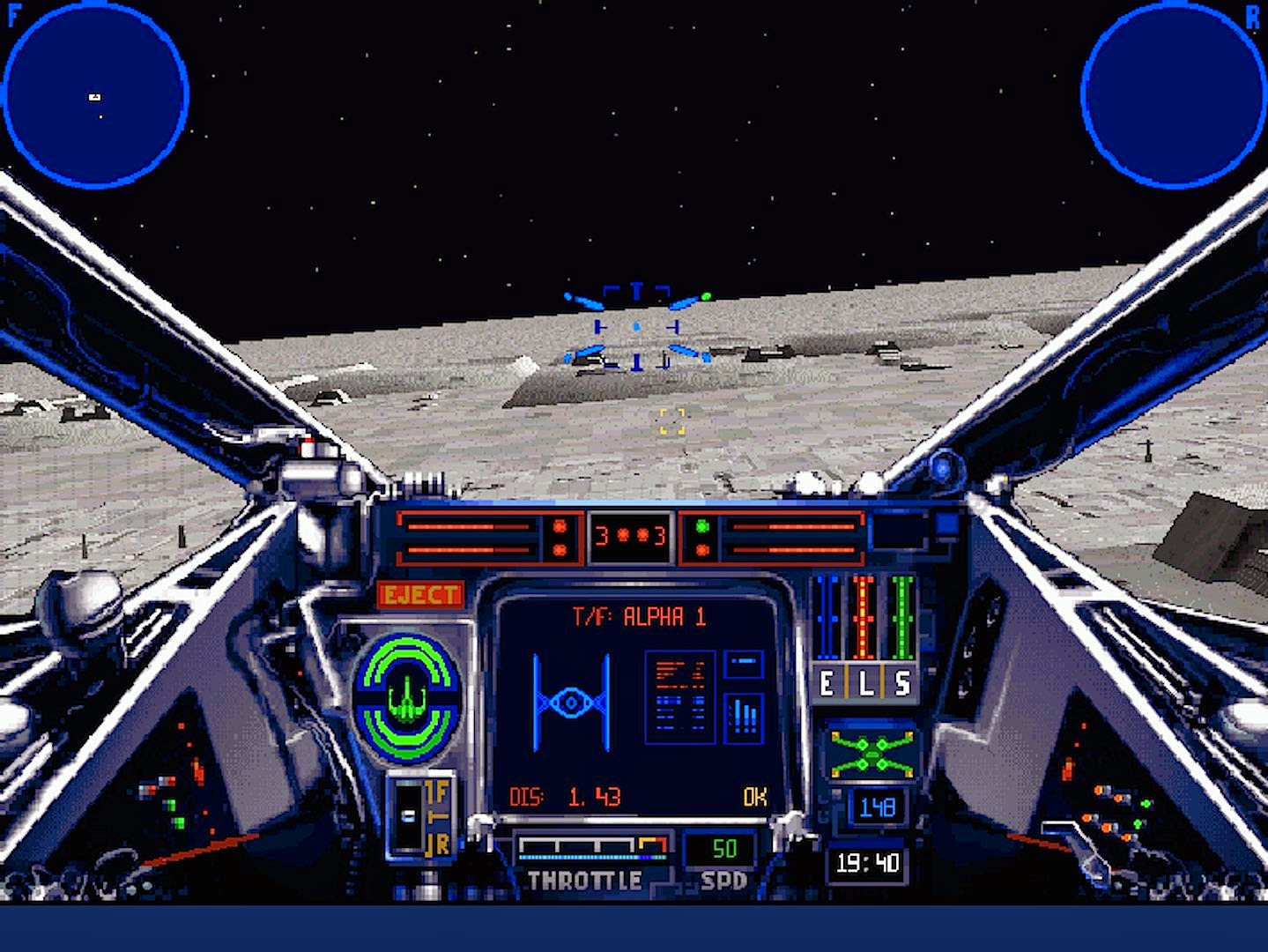 X-Wing TIE Fighter