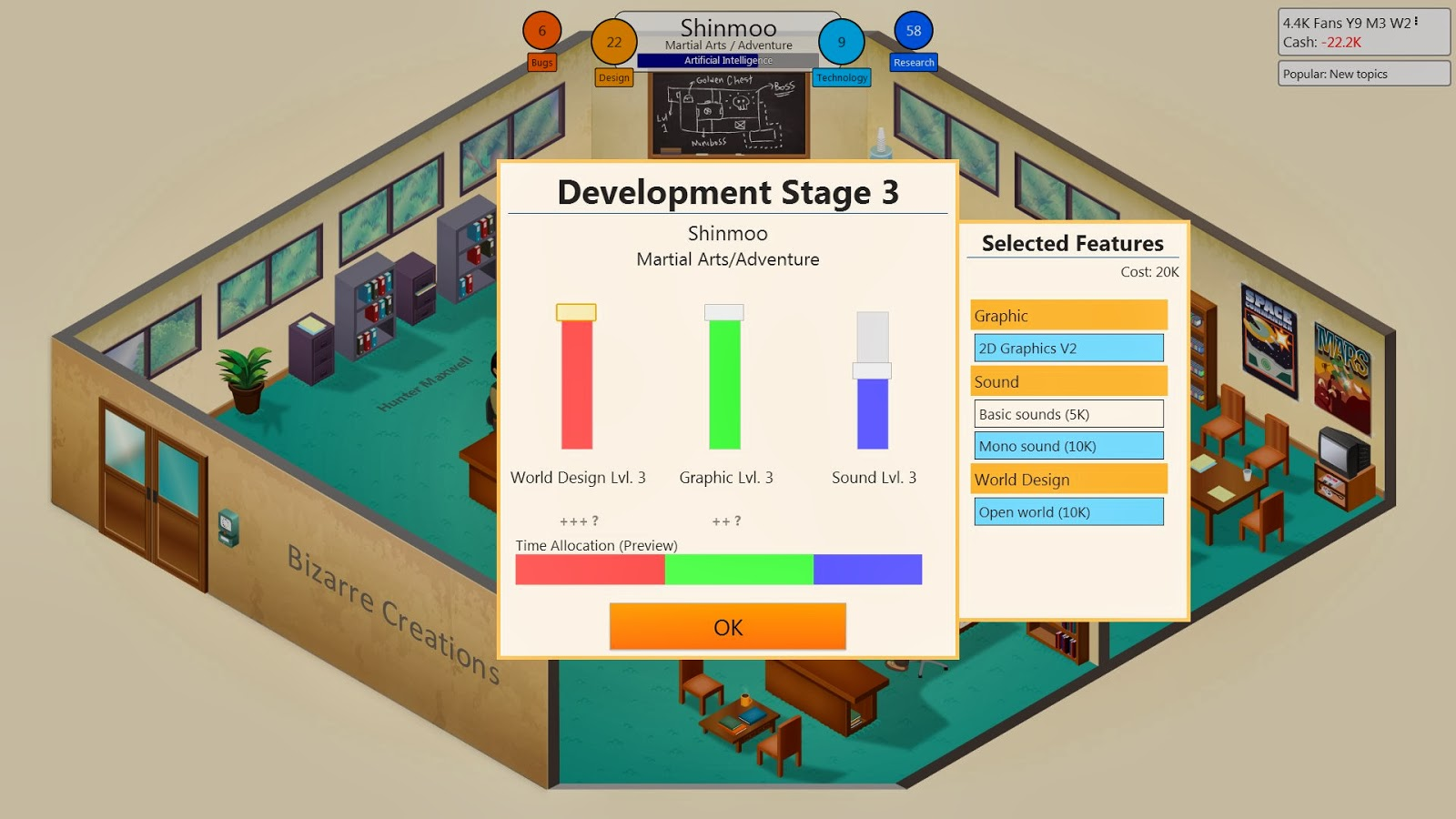 how to get the r&d lab in game dev tycoon