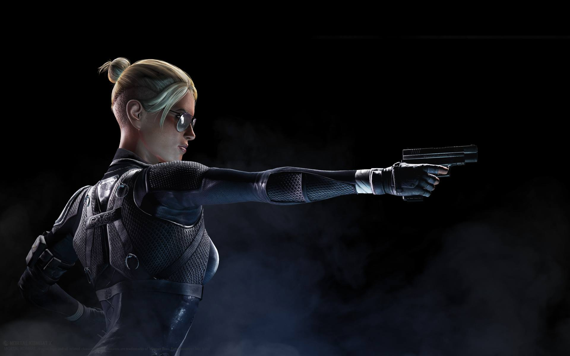 Johnny Cage's daughter Cassie Cage