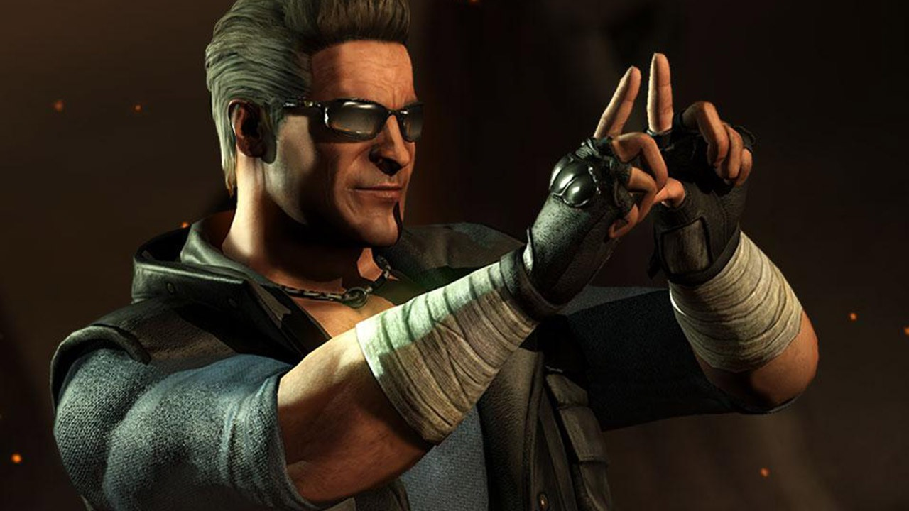 Fan favorite Johnny Cage from MKX