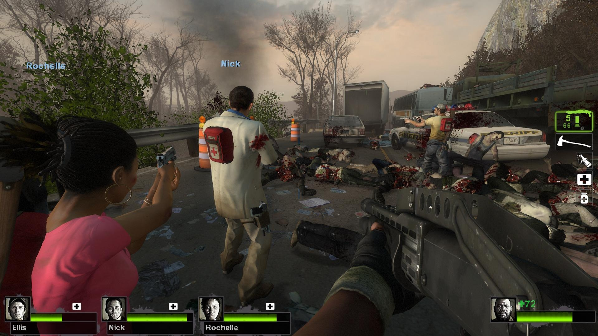 This is an example of the carnage that is Left 4 Dead 2