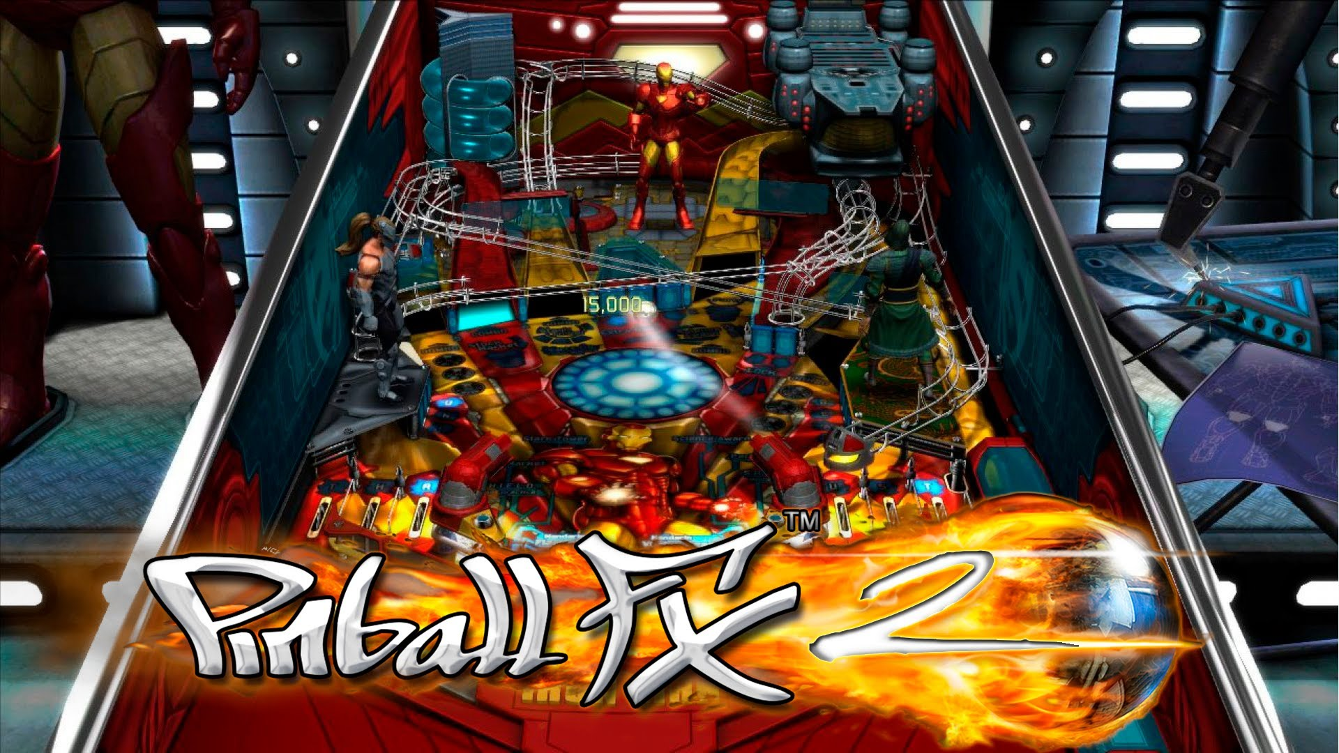 Pinball FX2 has so many new tables to choose from