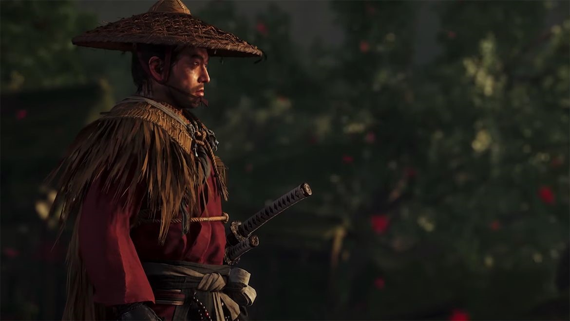 Samurai is a popular setting this year for games