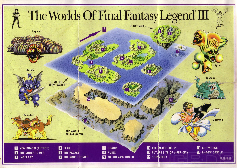 Final Fantasy Series: A List of All Final Fantasy Games