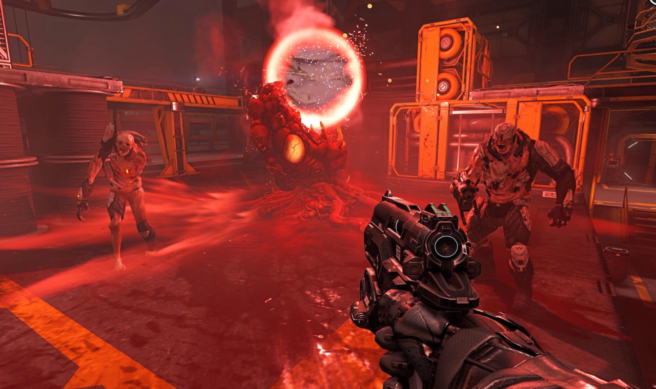 Doom-like shooter shadow warrior 2 gets pc release date, gory new.