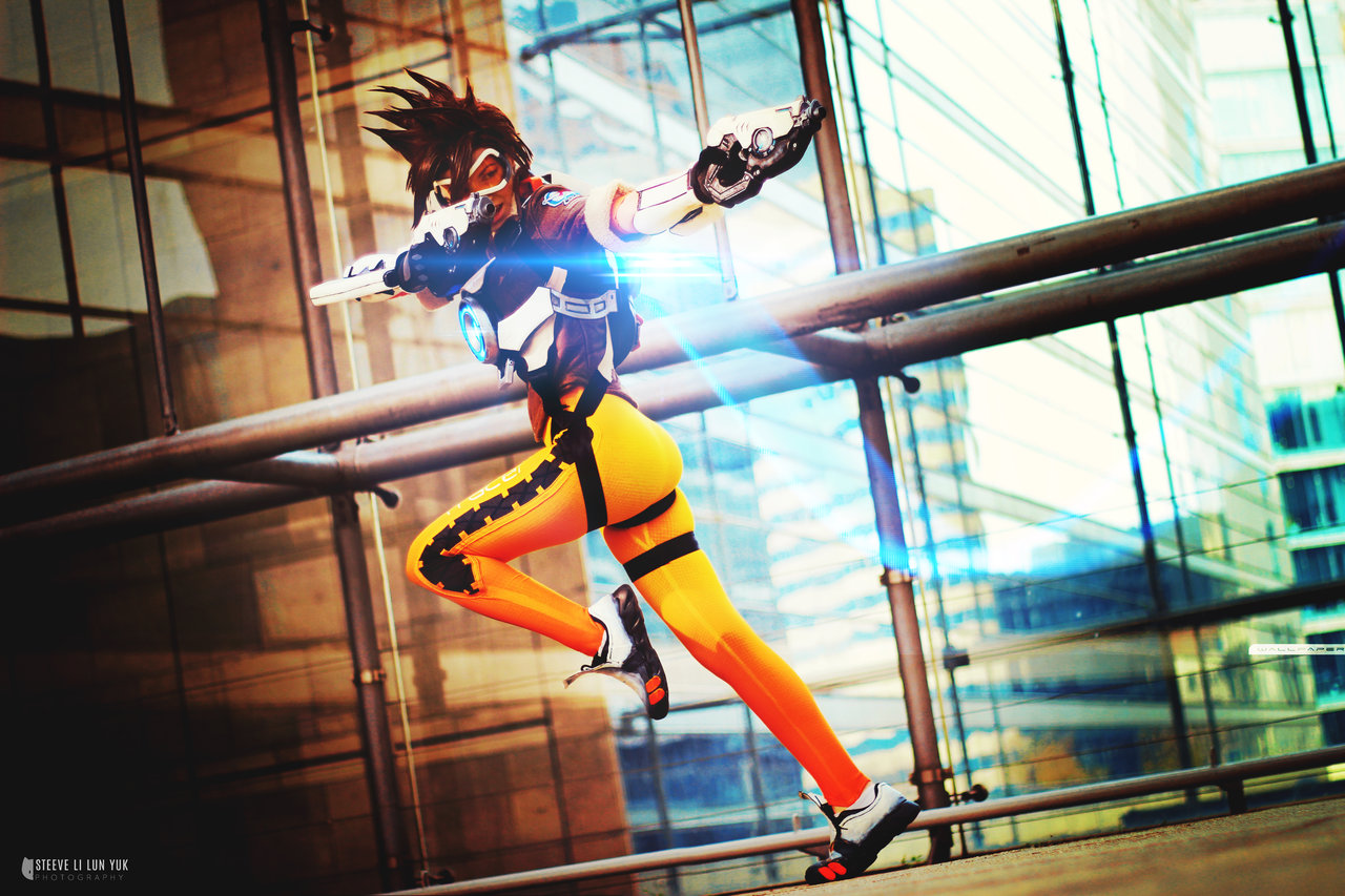 Cosplay hot tracer 47 Hot