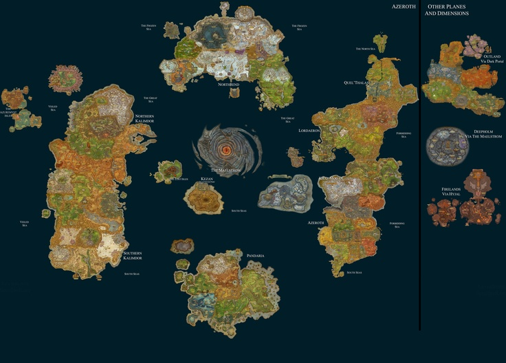 Is black desert online a better mmorpg than world of warcraft black desert onlines map is just one continents worth gumiabroncs Gallery