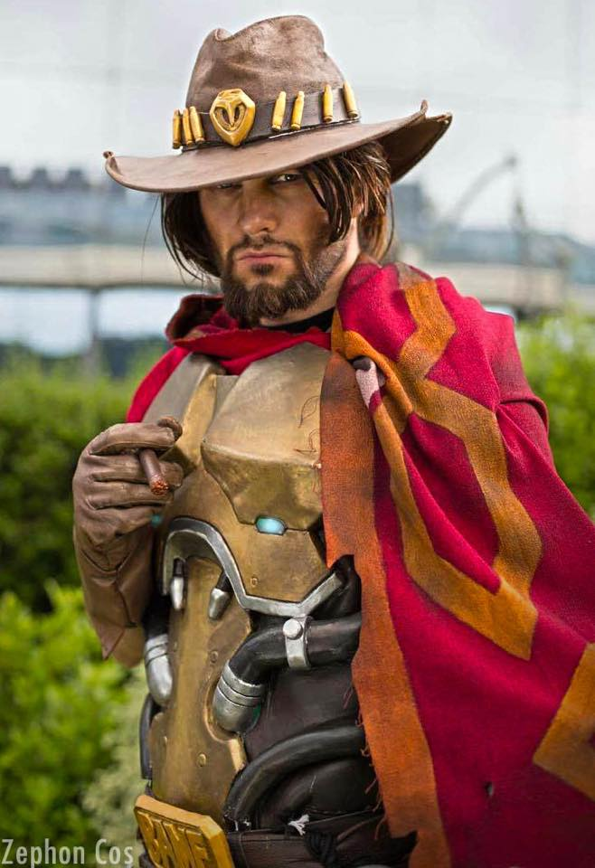 11 Best Mccree Cosplays On The Internet Gamers Decide