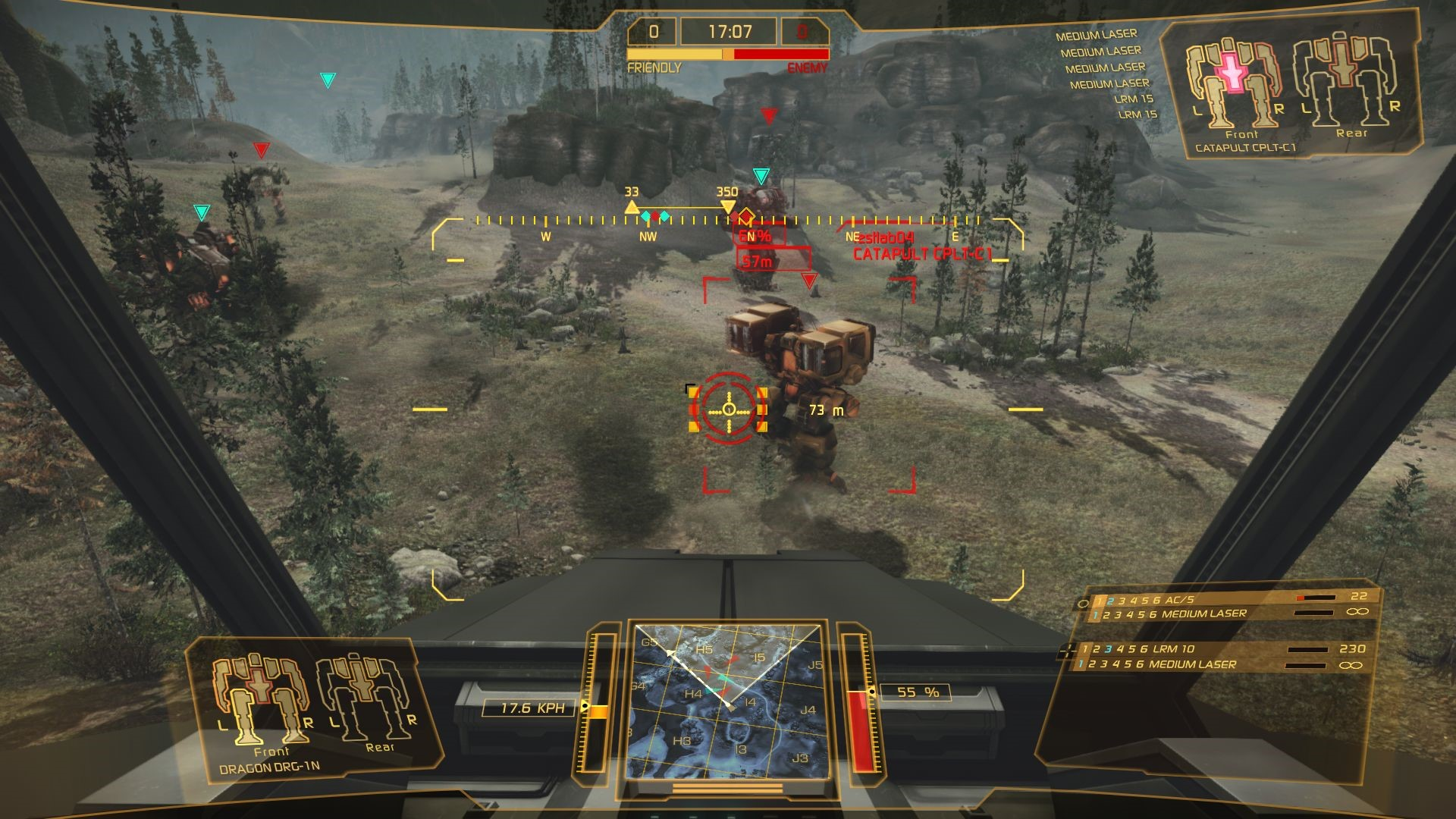 free to play ftp action mmo rpg shooter fps fair best new games to play top 21 2017 Mechwarrior Online gameplay