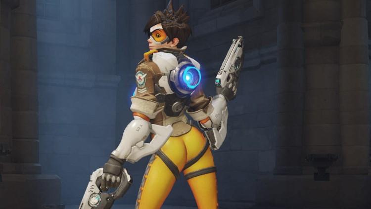 feminism games industry pc gaming design women sexualisation sexy gamer girls overwatch pose