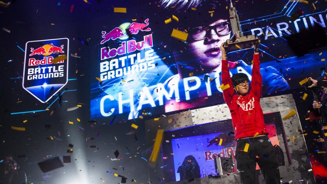 trophy red bull battlegrounds esports champion utah scholarship gaming