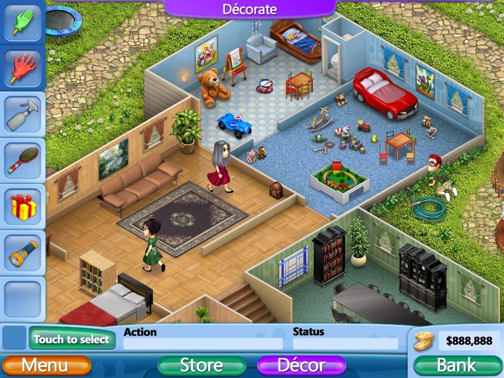 Room Decorating Virtual Games