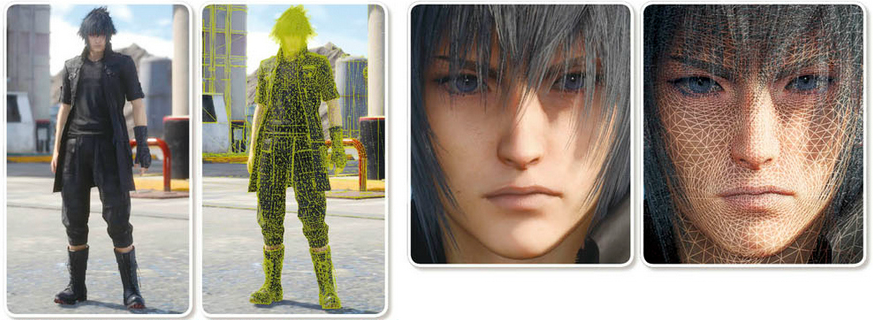 Constructing Noctis in the Luminous Engine