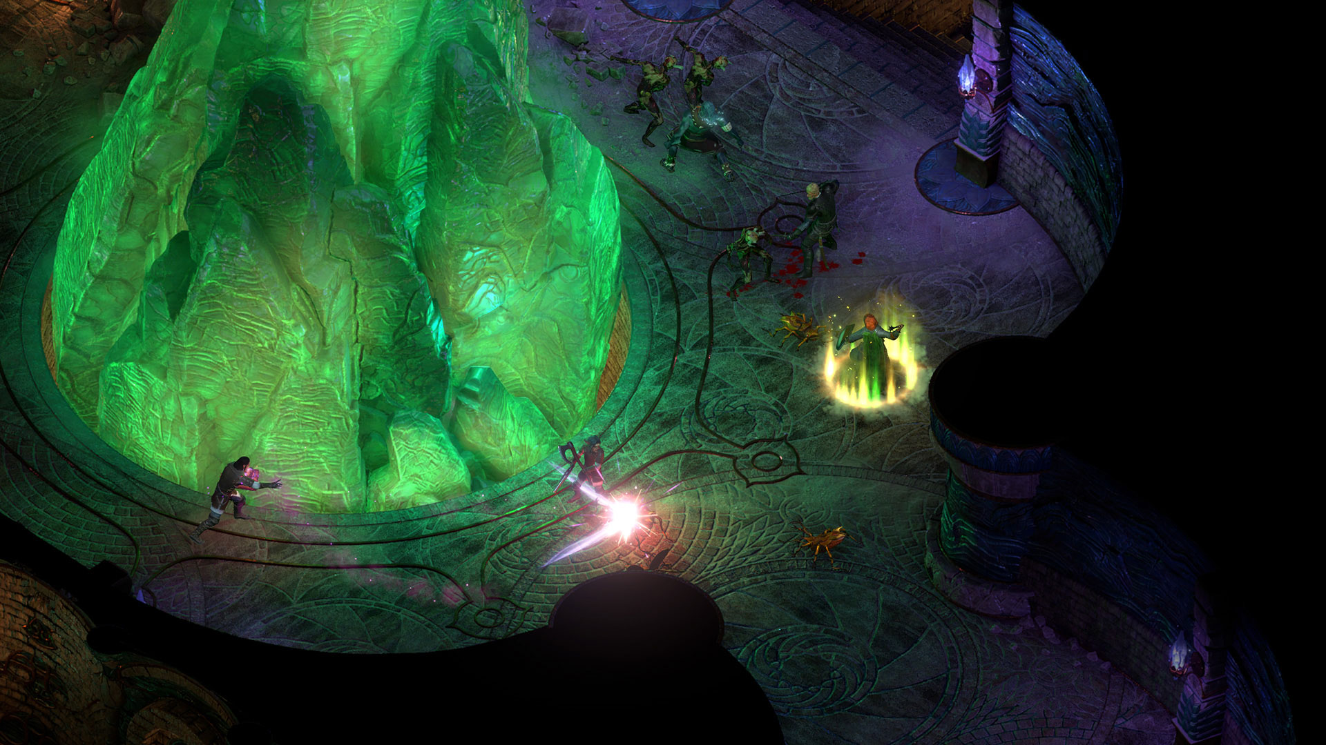 Obsidian entertainment received 45 million in funding for in the modern day crowdfunding projects to get them off the ground has become quite commonplace the first game in the series pillars of eternity falaconquin