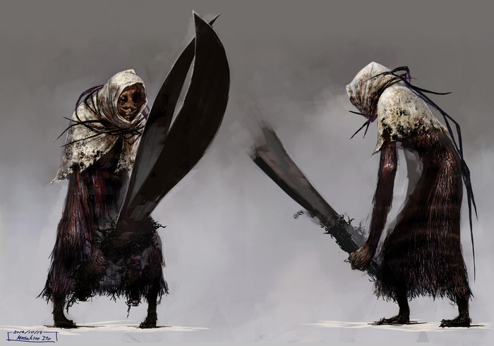 The Scissorwalker, the main antagonist of Nightcry