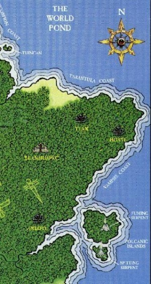 The Vampire Coast, home to zombie pirates and southern vampire lords.