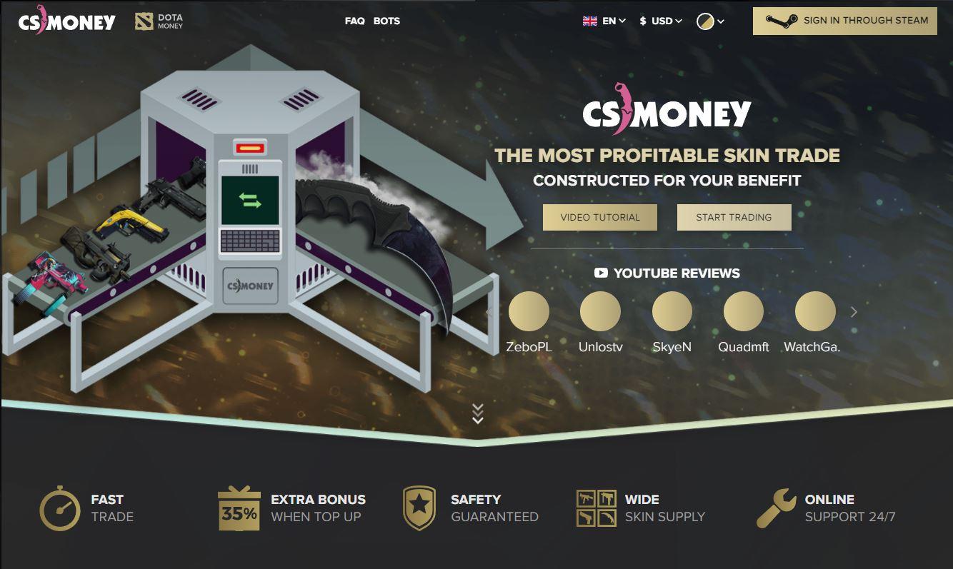 the top 5 best cs go skin trading sites gamers decide. Black Bedroom Furniture Sets. Home Design Ideas