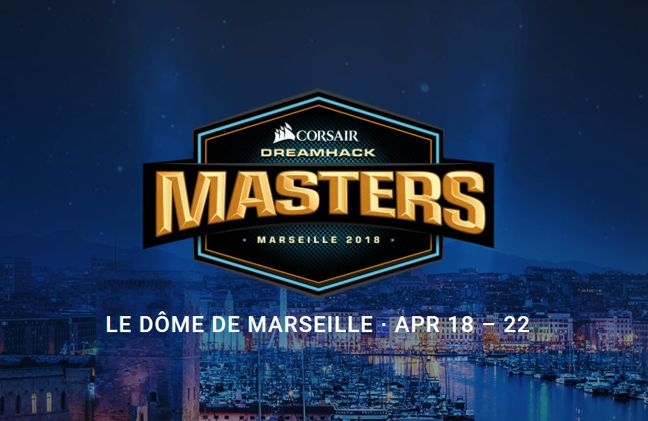 DreamHack Masters Marseille 2018 Marketing Image