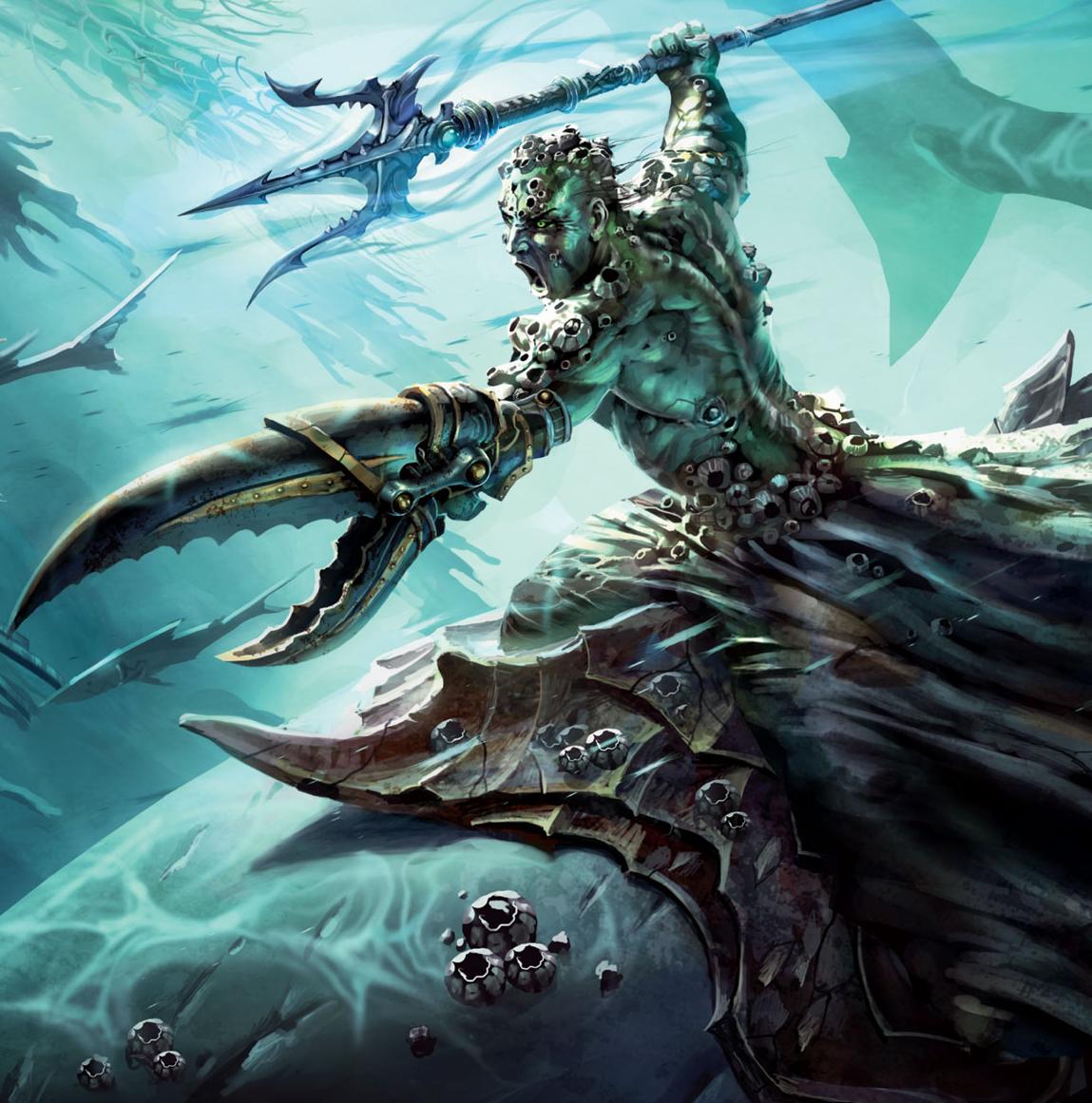 Sea Elf Storm Sorcerer