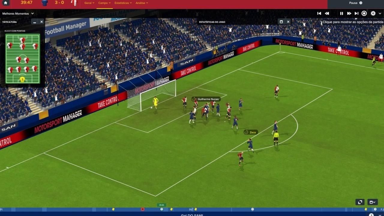 Football Manager Simulation Gameplay