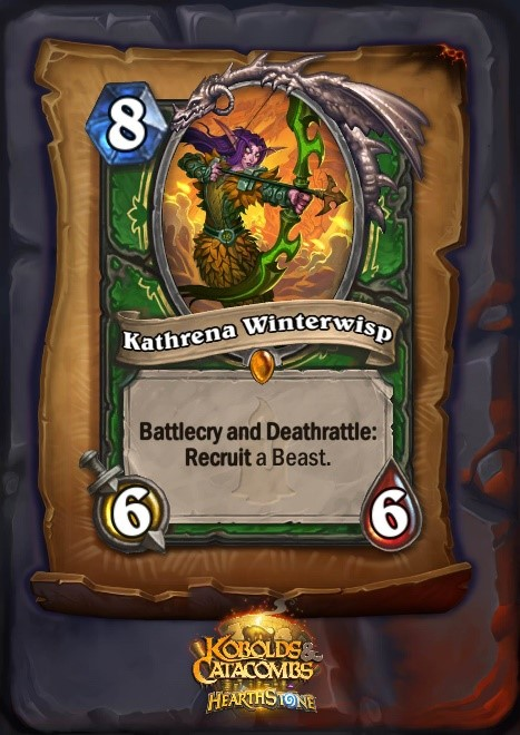 Image result for kathrena hearthstone