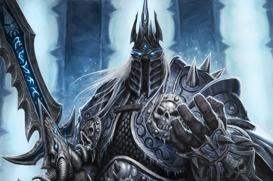 Image result for the lich king hearthstone
