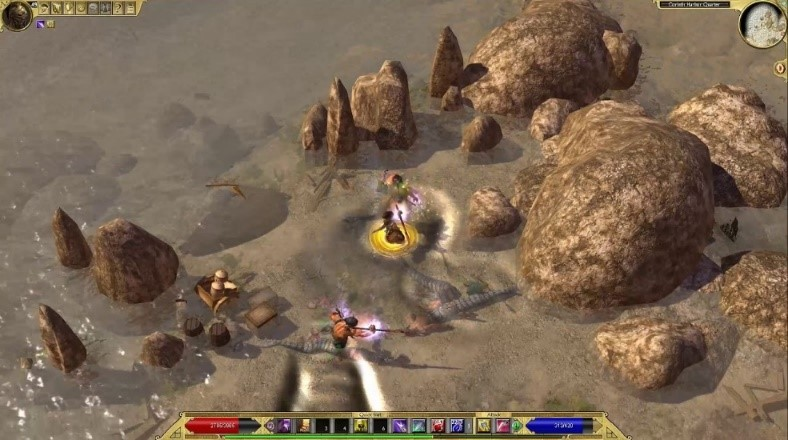 Image result for titan quest ragnarok gameplay
