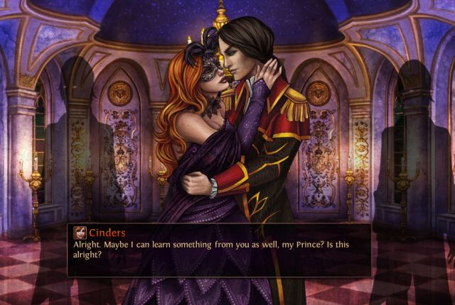 cinders, cinders gameplay, cinders visual novel, best dating sims