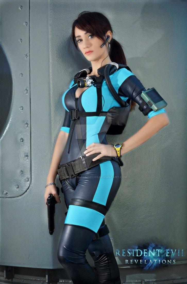 Jill Valentine Cosplay Resident Evil 5