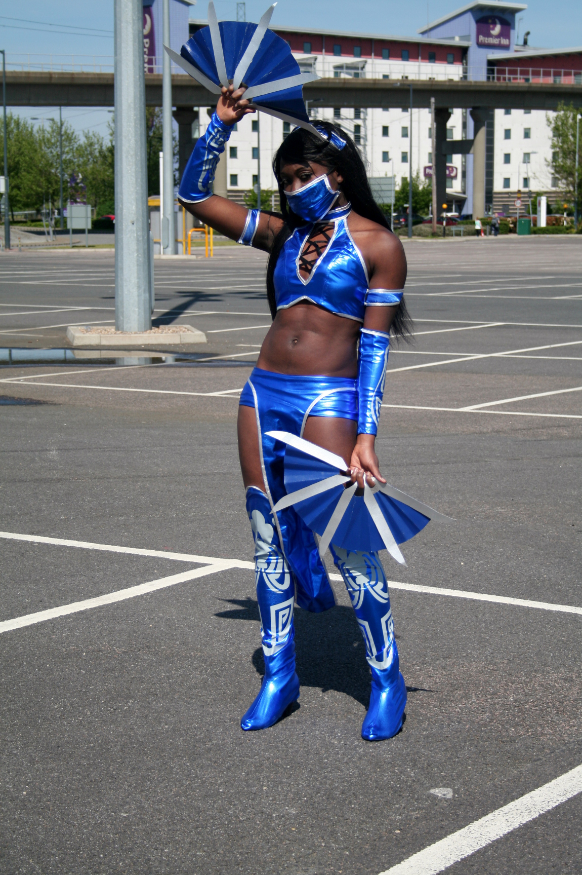 Kittykat27 cosplay Kitana