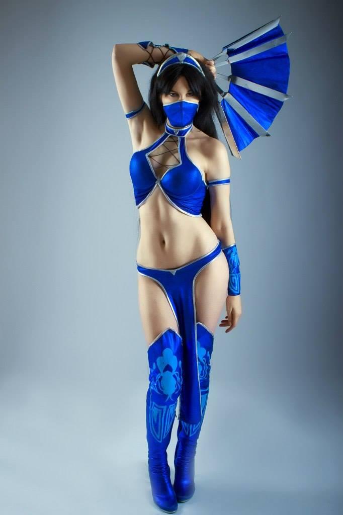 mortal cosplay Kitana costume kombat