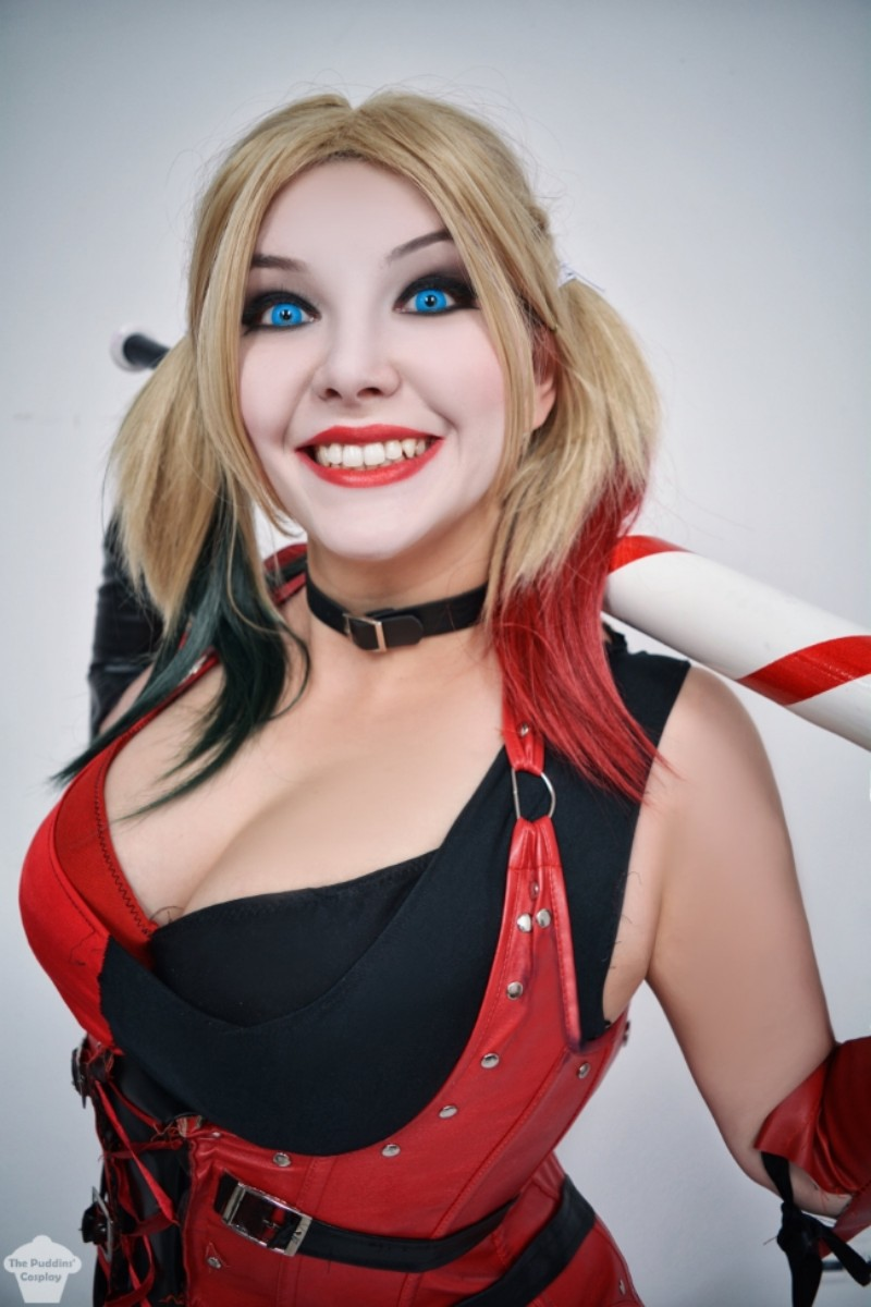 Harley quinn sexy cosplay