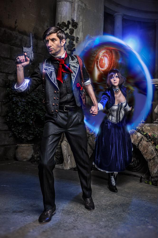 Bioshock infinite cosplay booker