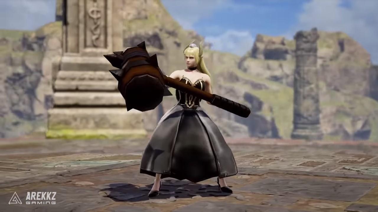 minggu sebelum dia akan diumumkan sebagai pejuang DLC 10 Kreasi Karakter Terbaik di Game Soul Calibur VI