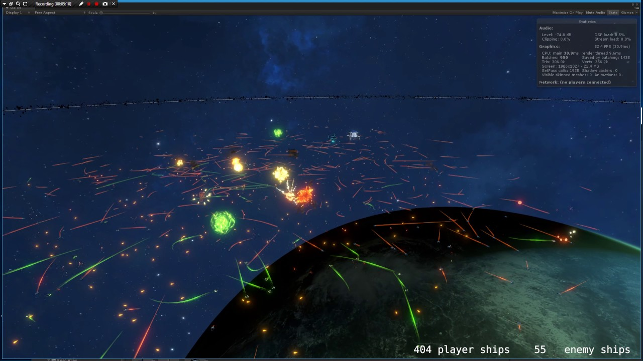 AI War 2 uses hundreds of ships to portray huge space battles