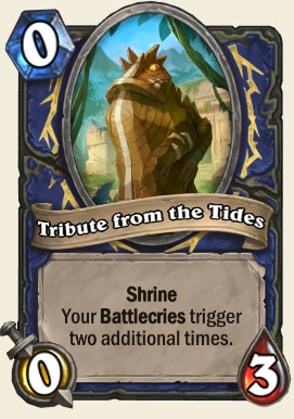 Tribute from the Tides