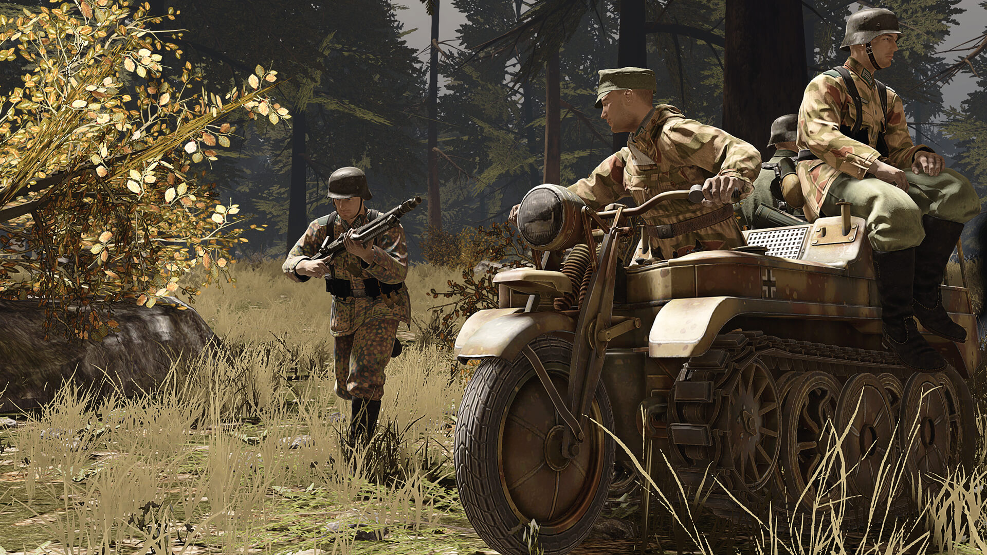 German soldiers in Heroes & Generals