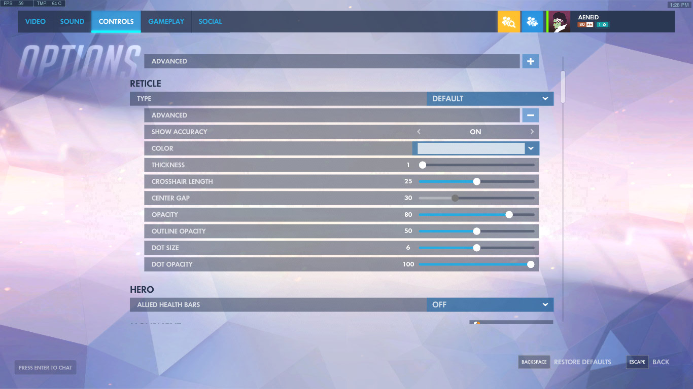 The 25 Best Overwatch Settings That Get You More Kills | GAMERS DECIDE