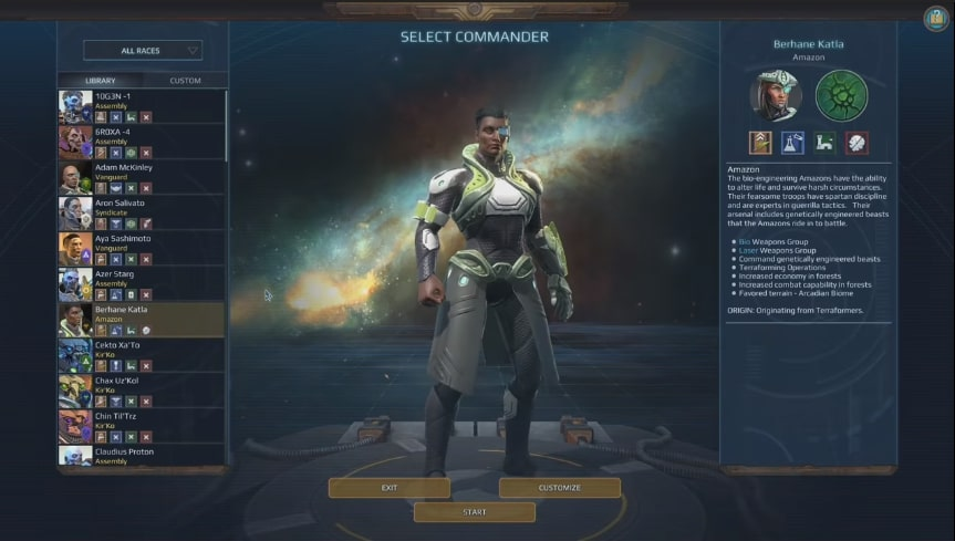 age of wonders planetfall character selection - Top 25 Upcoming Strategy Games We Are Excited For (2019-2022)