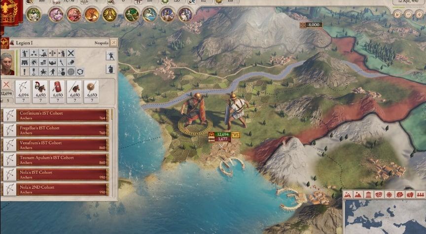imperator rome battle - Top 25 Upcoming Strategy Games We Are Excited For (2019-2022)