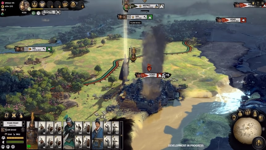 total war three kingdoms laying siege - Top 25 Upcoming Strategy Games We Are Excited For (2019-2022)