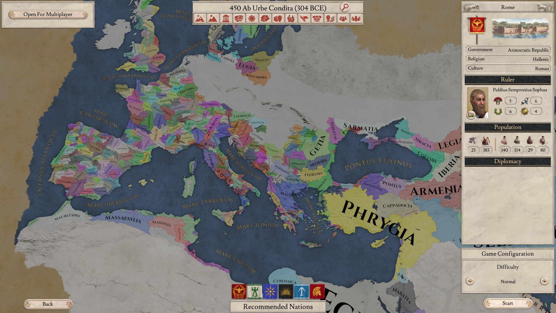 Mediterranean Oyster: The world of Classical antiquity is your oyster in Imperator: Rome.