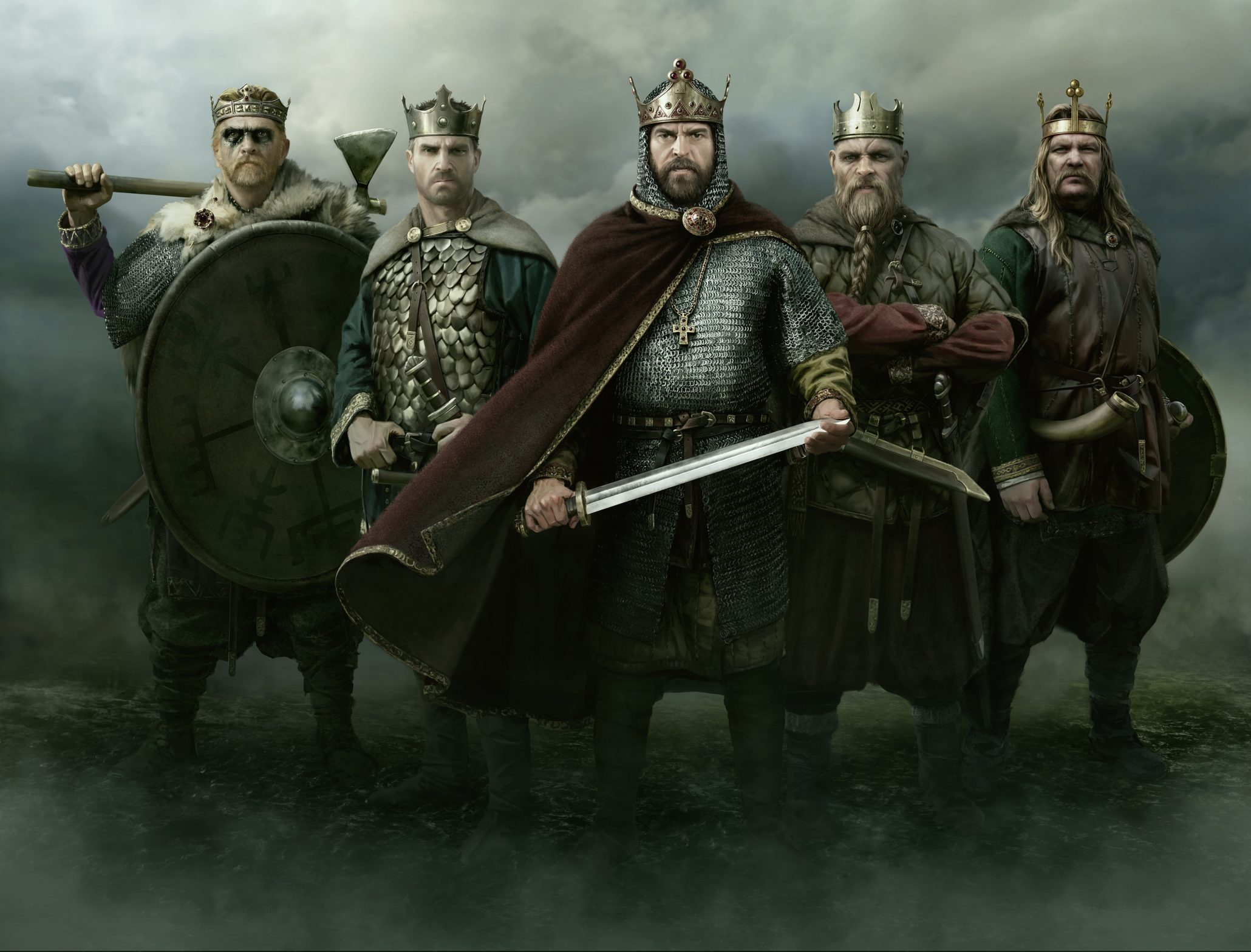 Pick Your Poison: You can play as 5 cultures in Thrones of Britannia; The Viking Sea Captains, The Welsh, The English, The Great Viking Army, and The Gaels.