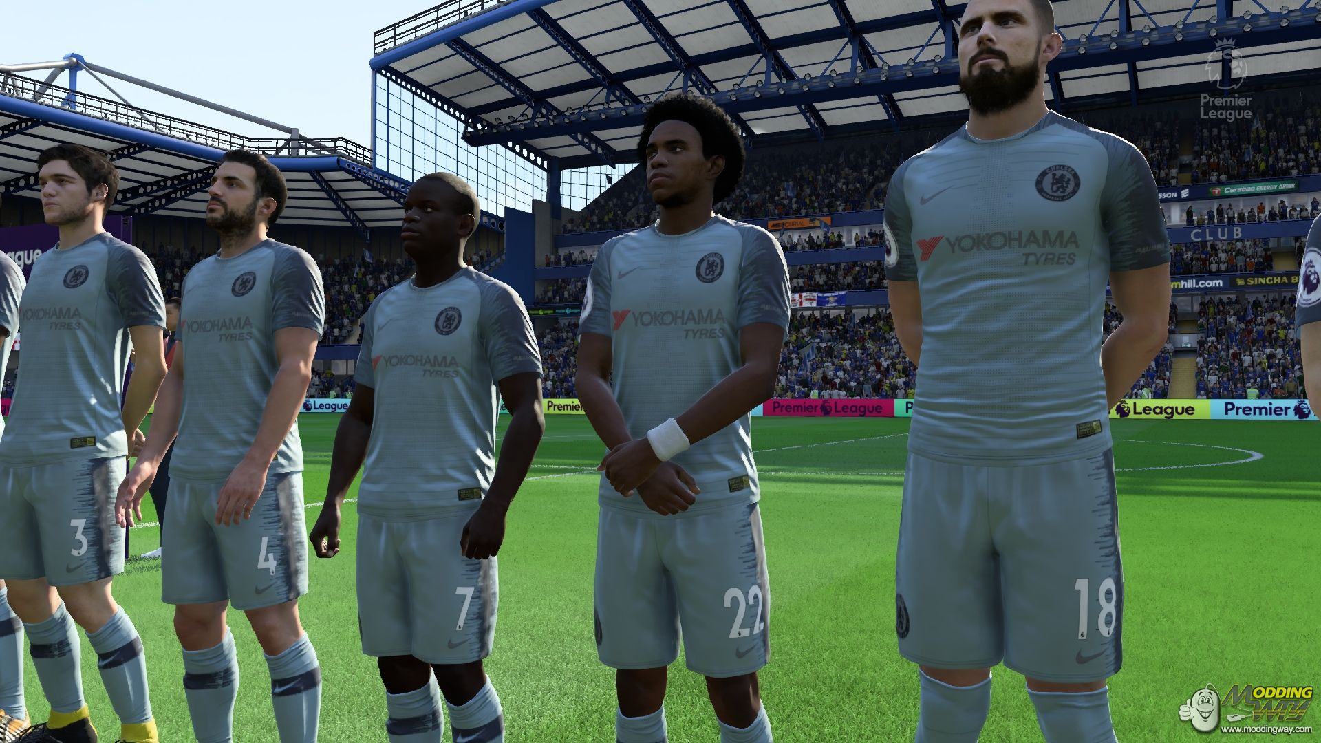 d019c2356e7 Top 15 Fifa 19 Best Kits That Look Awesome | GAMERS DECIDE